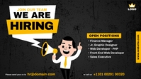 We are Hiring ad Twitter-bericht template