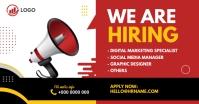 We are hiring ad Gambar Bersama Facebook template