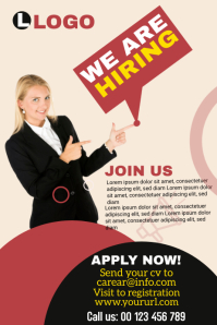 We are hiring Banner template