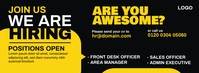 We are Hiring Facebook Cover Photo template