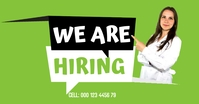 We are hiring Image partagée Facebook template