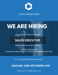 We are hiring Flyers template