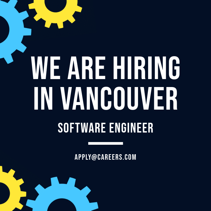 We Are Hiring Gear Post