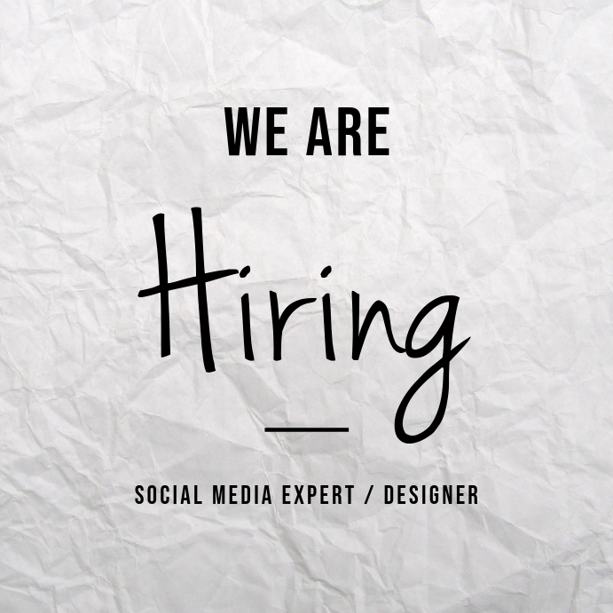 We Are Hiring Instagram Post Iphosti le-Instagram template