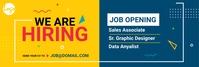 We are hiring LinkedIn Banner LinkedIn-banner template