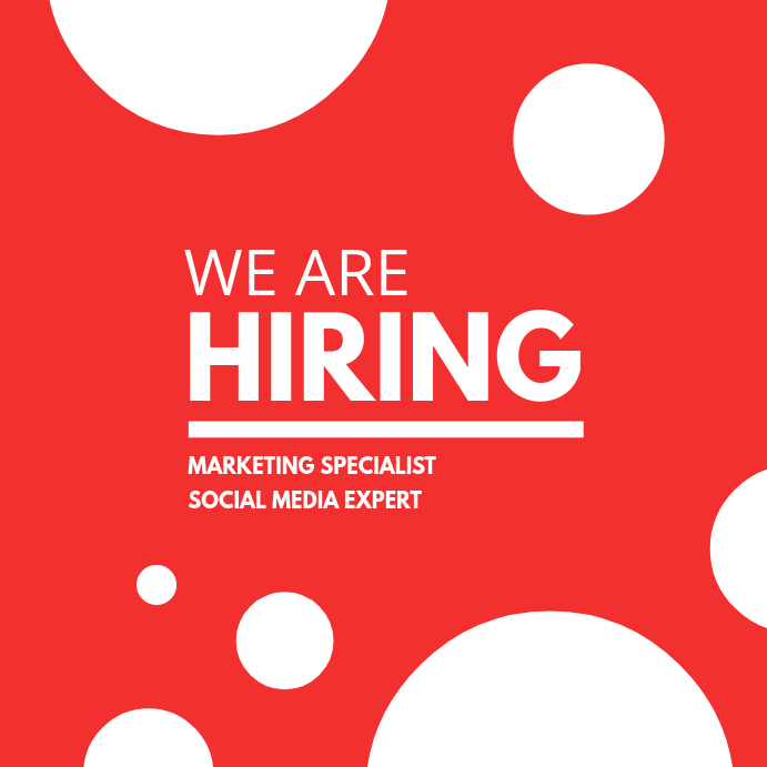 We Are Hiring Post Bubbles