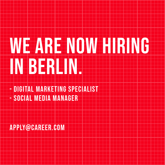 We Are Hiring Post Iphosti le-Instagram template