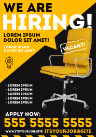WE ARE HIRING POSTER