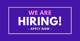 We Are Hiring Professional Facebook Post Bold