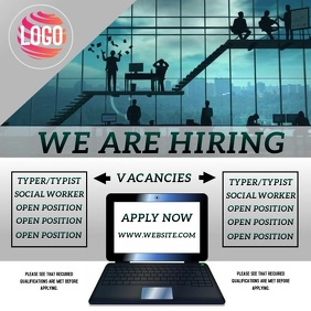 WE ARE HIRING TEMPLATE Instagram Post