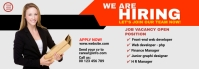We are hiring Tumblr banner template