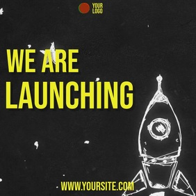 We are launching rocket drawing video