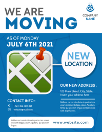 we are moving generic flyer advertisement Volantino (US Letter) template