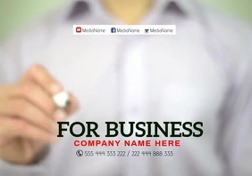 We are open Business2 A3 template