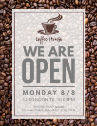We Are Open Flyer