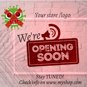 We are open_