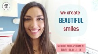 We Create Smiles Digital Display (16:9) template