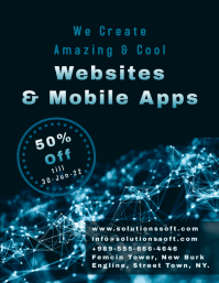 We Create Websites & Mobile Apps