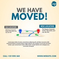 We Have Moved Ad Iphosti le-Instagram template