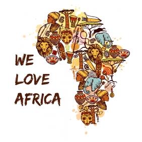 We Love Africa Flyer Template Pos Instagram