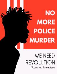We need Revolution Black Lives Matter Flyer