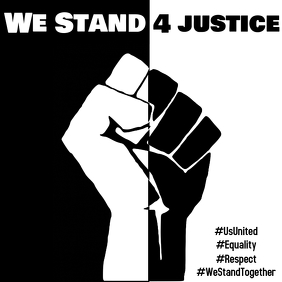 We Stand 4 Justice Instagram Post template