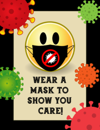 Covid 19 Corona Virus Prevention Poster Template Postermywall