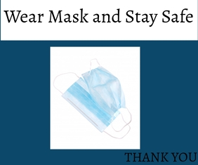 wear mask template Medium Rectangle