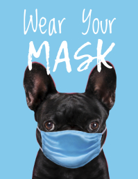 Wear Your Mask Dog