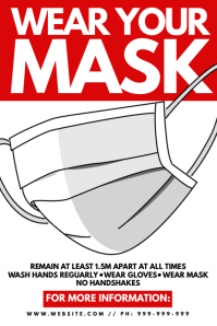 Wear Your Mask Poster