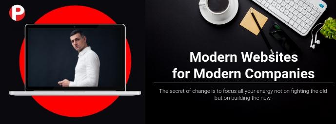 Web Design Agency Flyer Facebook-omslagfoto template