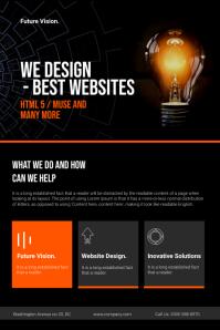 Web Design Company Flyer