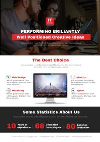 Web Design Studio Flyer