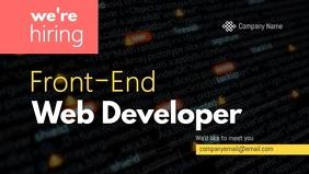 Web Developer Hiring Facebook Cover Video