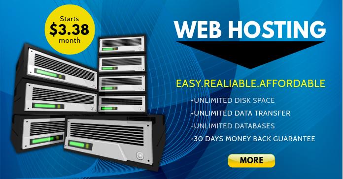 Web Hosting Publicité Facebook template
