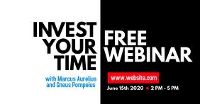 webinar design template