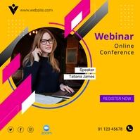 Webinar Online Conference Template
