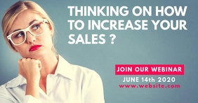webinar sales facebook advertisement