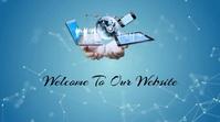 Website Background Video Digital Display (16:9) template