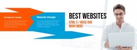 Website Design Agency Facebook Cover template