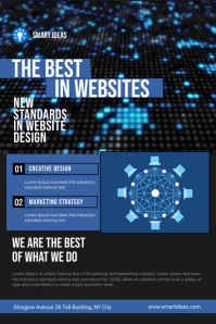 Website Design Company Service Flyer
