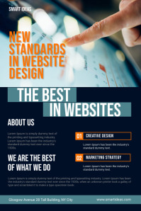 Website Design Company Service Flyer