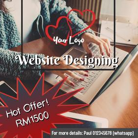 Website Designing Flyer
