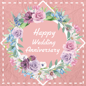 wedding, anniversary, thank you card