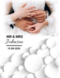 Wedding,event,party Volante (Carta US) template