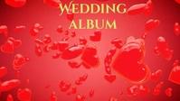 Wedding album,marriage YouTube Thumbnail template