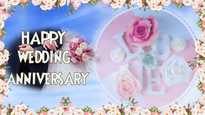 Wedding Anniversary Card Message Template Postermywall