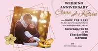 Wedding Anniversary Facebook Shared Image template