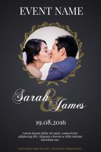Wedding Anniversary Invitation Event Template