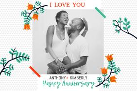 Wedding Anniversary Landscape Poster